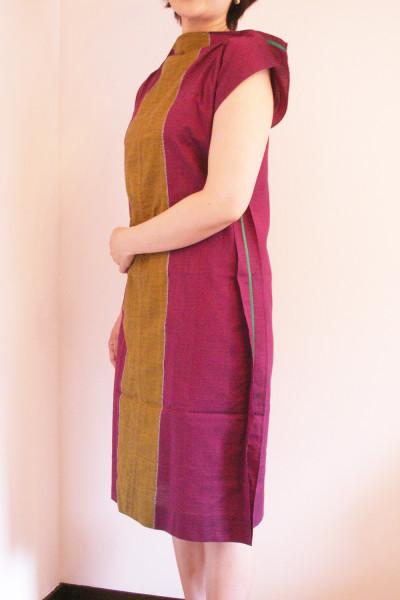 1枚の布ドレス